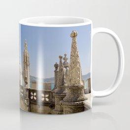 ornamental turrets in the Torre de Belem, Lisbon Coffee Mug