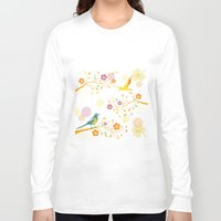 autumn Long Sleeve T-shirts featuring Autumn by Kakel