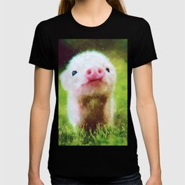 CUTE LITTLE BABY PIG PIGLET T-shirt