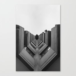 Desde el suelo. Canvas Print