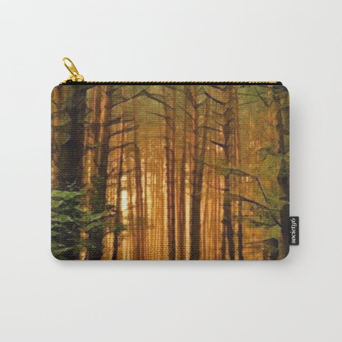 Golden Forest Carry-All Pouch