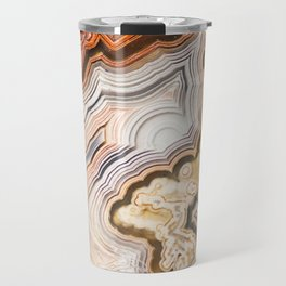 Contemporary Fine Art - Agate Abstract Travel Mug