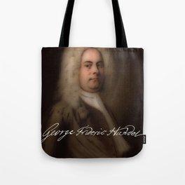 George Frideric (or Frederick) Handel (born Georg Friedrich Händel) by Balthasar Denner (c.1726–172 Tote Bag
