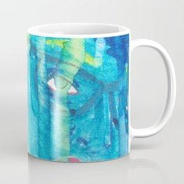 Feelin' Blue in the Rain Coffee Mug