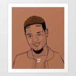 Fetty Wap 679  Art Print