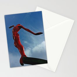 Grace in the city Stationery Cards
