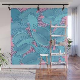 Free hugs (Venus Flytrap on pink) Wall Mural