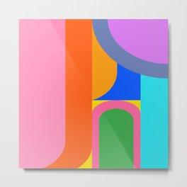 Shape and Color Study 59 Metal Print