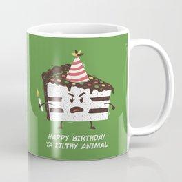 Happy Birthday Ya Filthy Animal Coffee Mug