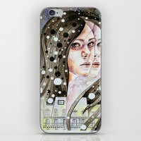 nightmare iPhone & iPod Skins featuring Nightmare by Veronika Weroni Vajdová