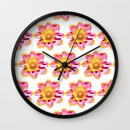 Flower pattern #2 Wall Clock