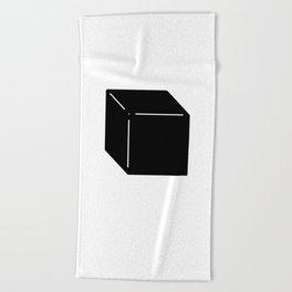 Shapes Cube Beach Towel