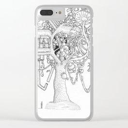 Wonderment Clear iPhone Case