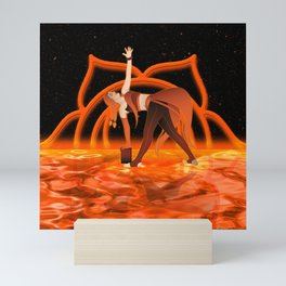Inner Light: Sacral Chakra (UPDATED) Mini Art Print