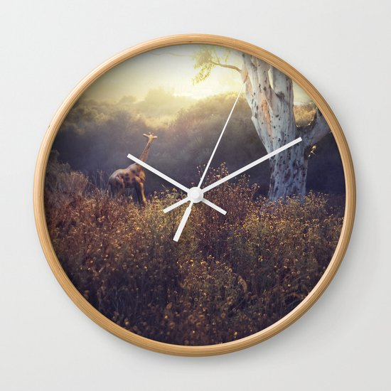last time here Wall Clock