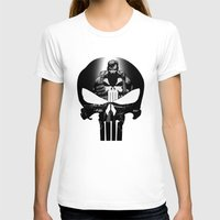 punisher T-shirts featuring The Punisher by dTydlacka