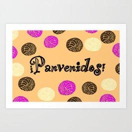 Panvenidos! Art Print