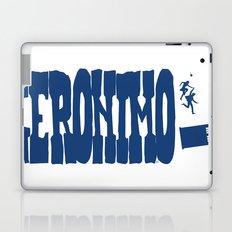Geronimo Doctor Who Laptop & iPad Skin
