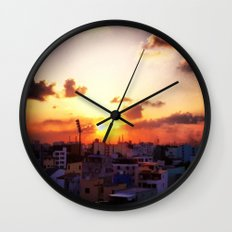 Beautiful Concrete Wall Clock