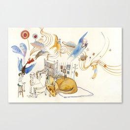 The Dream Capture Canvas Print