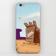 acme rocket crate iPhone & iPod Skin