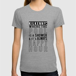 Kilkenny Pool is a Shower T-shirt