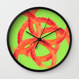 LOOPY FOR YOU Wall Clock
