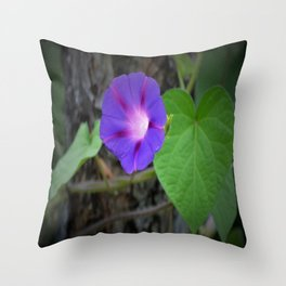 Blooming bell Throw Pillow