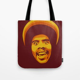 70s style Disco Afro [cutout] Tote Bag