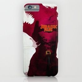 Inspired Movie Poster #2: Jurassic Park (1993) iPhone Case