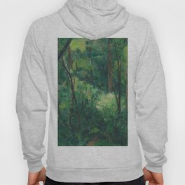1880 - Paul Cezanne - Interior of a forest Hoody