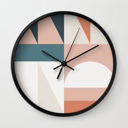 Cirque 05 Abstract Geometric Wall Clock