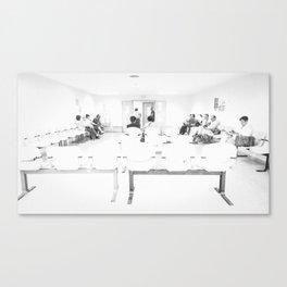 Purgatorio / Paciencia Canvas Print