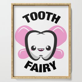Cute Tooth Fairy Gift design Serving Tray