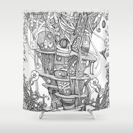 IMAGINATION (comforters, covers, curtains, t-shirts) Shower Curtain