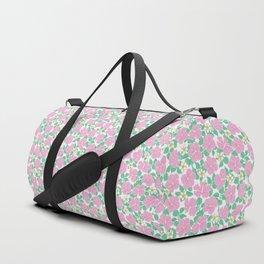 Hibiscus and Plumeria Duffle Bag