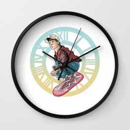 Back to the future Wall Clock