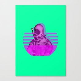 Space Diver Canvas Print