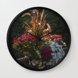 Bouquet Sur Seine - France Wall Clock