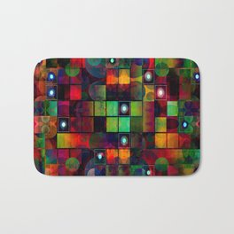 Urban Perceptions, Abstract Shapes Bath Mat