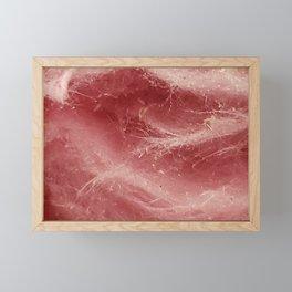 Pink Fluffy Clouds Framed Mini Art Print