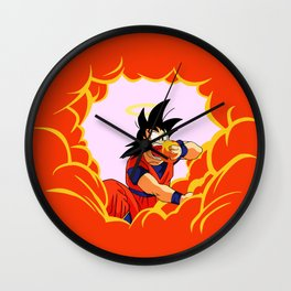 Delicious Clouds Wall Clock