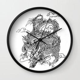 Padre's Dragon Wall Clock
