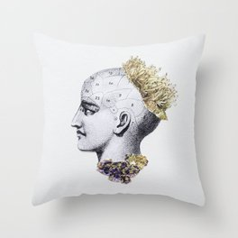 Cristales Throw Pillow