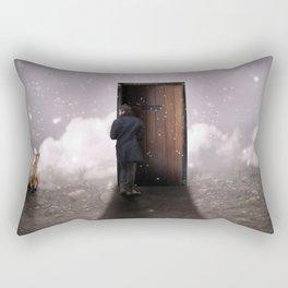 The door Rectangular Pillow