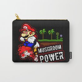 Mario Mushroom Power Carry-All Pouch