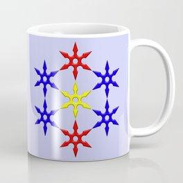 Shuriken Design Coffee Mug