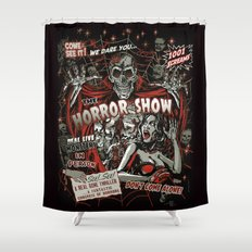 The Horror Show Shower Curtain