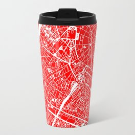 PARIS MAP ART Travel Mug