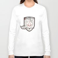 okami Long Sleeve T-shirts featuring God Hound [Okami] by Ruwah
